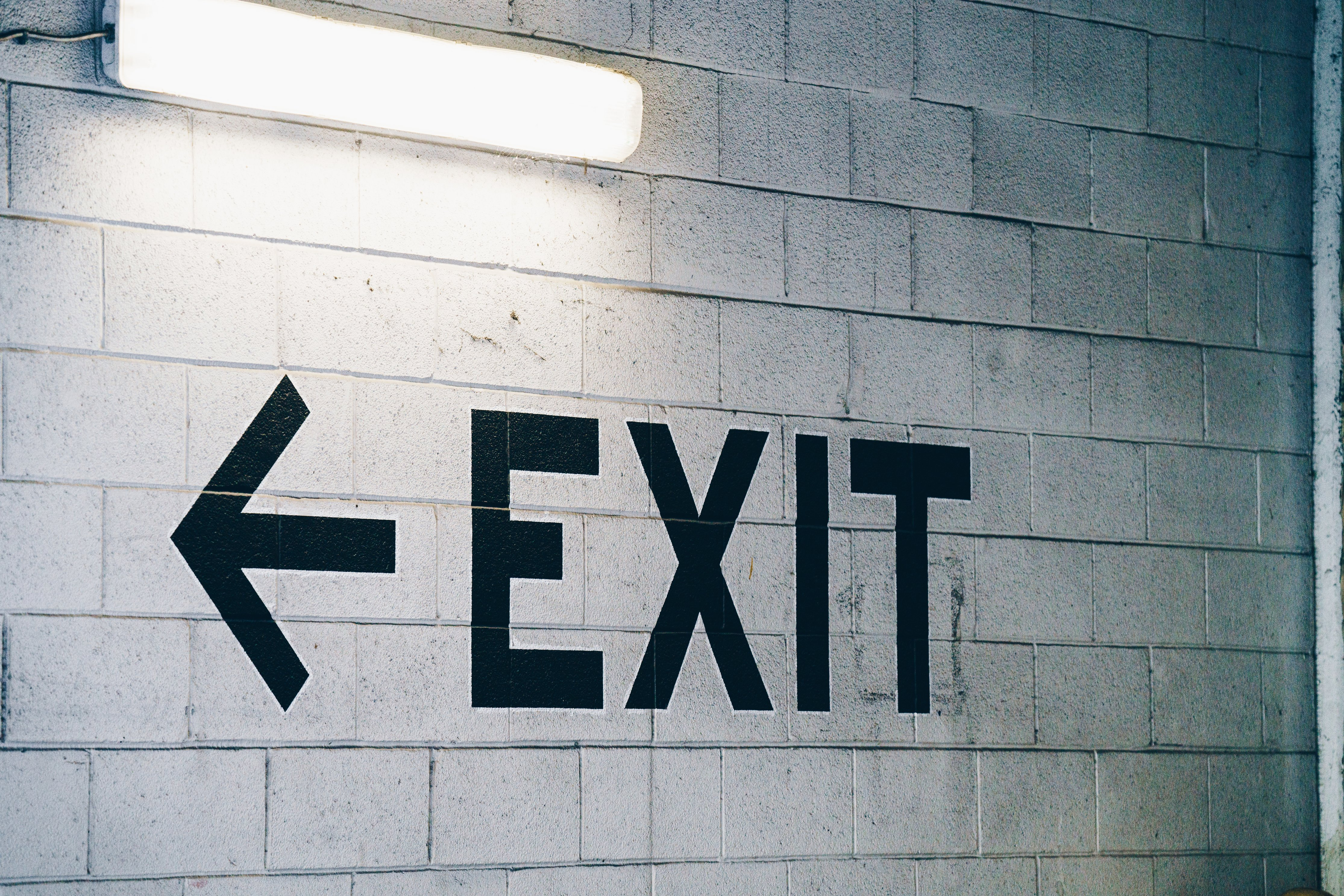 Panneau Exit